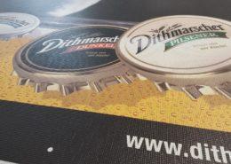 Hochauflösender Digitaldruck bei Werbeplanen