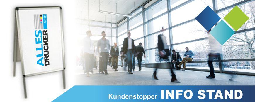 Kundenstopper InfoStand