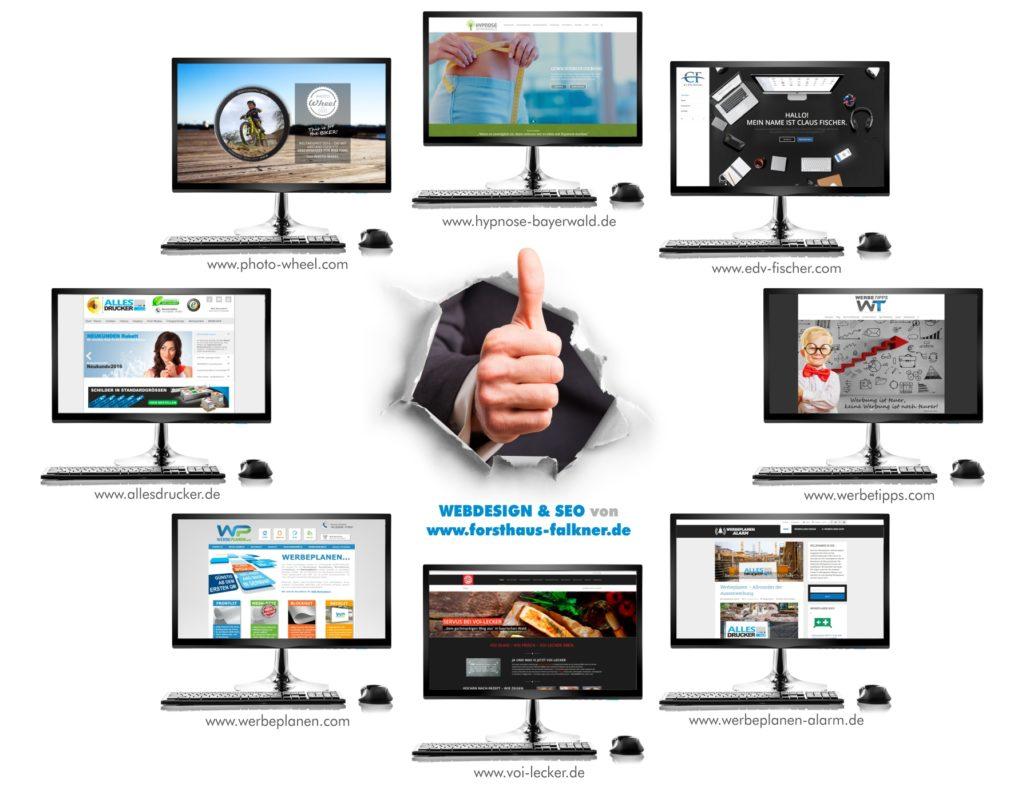 Layout von Webseiten