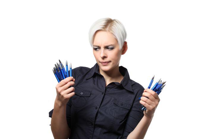 Werbe Kugelschreiber